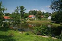 jeden z budislavských rybníků