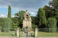 Pomník padlých v Desné z I. a II. světové války