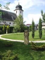 areál křížové cesty, kostel sv. Martina