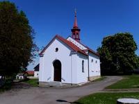 kaple Nalezení sv. Kříže z roku 1894