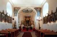 interiér kostela sv. Víta