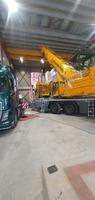 Kranfører på LTM230  Løft 55 tonn innendørs